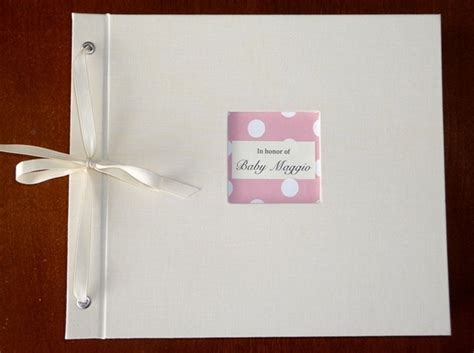 Baby Shower Photo Album by Building A Baby Shower Album Paper Source
