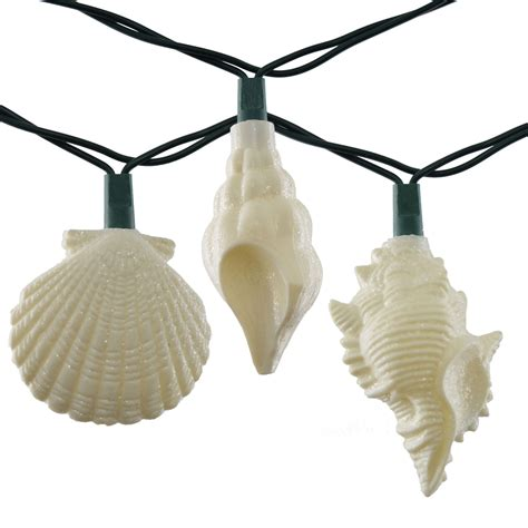 Sea Shells Party String Lights 10 Lights Shell String Lights