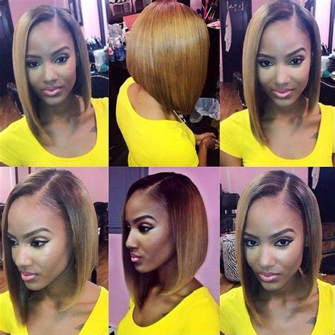 bob marleys sew in stylist feature love this honey blonde sew in install on