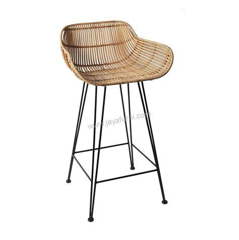 Jual Kursi Bar Stool kursi bar stool rotan toko furniture
