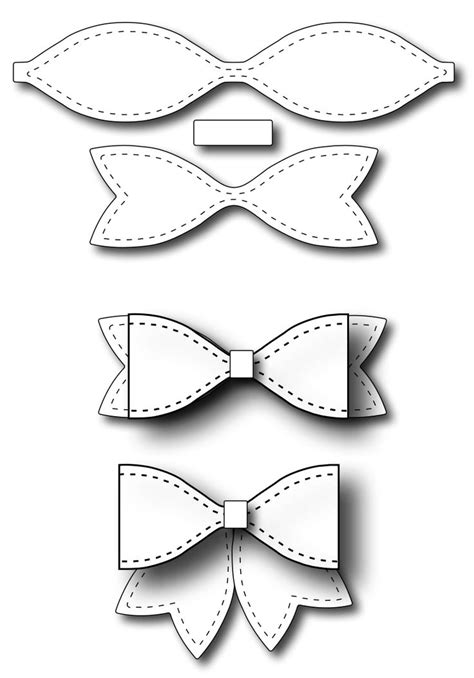 template of a bow 17 best images about templates on paper bows