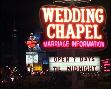 Getting Married in Las Wedding Chapel