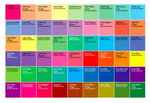 Color Swatches by A Script To Create A Grid Of Color Swatches
