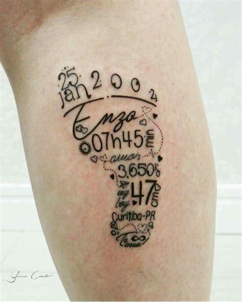 footprint tattoo footprint tattoos tattoos baby tattoos name