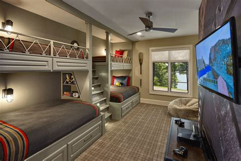 home design lover 22 cool designs of bunk beds for four home design lover