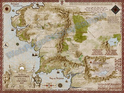 the lord of the rings middle earth map middle earth map 5600 x 4200px