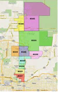 scottsdale zip code map related keywords suggestions