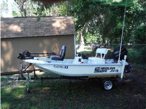 carolina skiff bench seat carolina skiff jv13 boats for sale