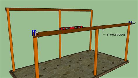 building a lean to on side of house woodwork attached lean to carport plans pdf plans