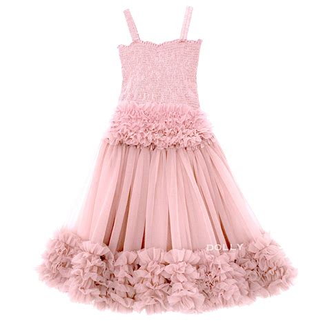 pink frilly top and tutu skirt set le petit tom