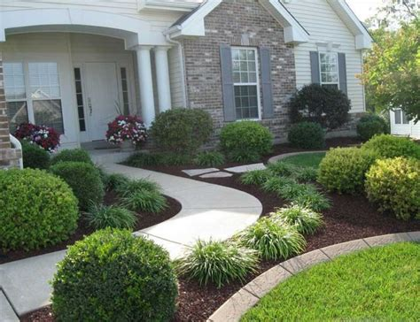 Easy Front Yard Landscaping Ideas Simple Front Yard Landscaping Ideas Pictures Home Interior Exterior