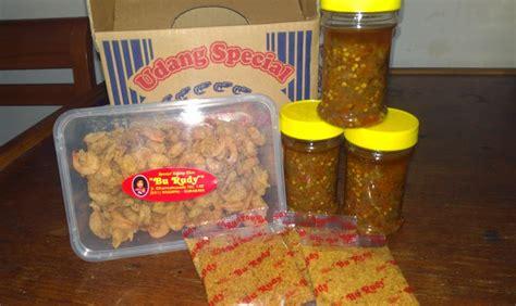 Paket Sambel Udang Bu Rudy Kecil agen kuliner bu rudy surabaya