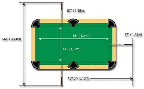 size pool table dimensions pool table dimensions metric pixshark com images