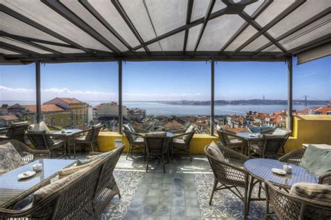 terrasse hotel les 10 plus belles terrasses avec vue sur lisbonne