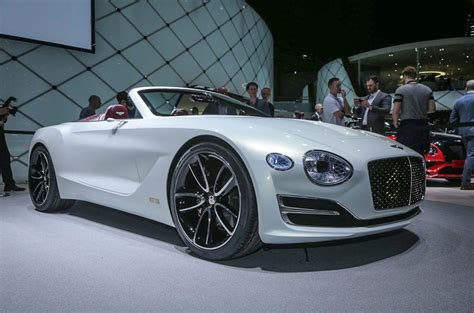 bentley sports car bentley lifts the lid on electric sports car