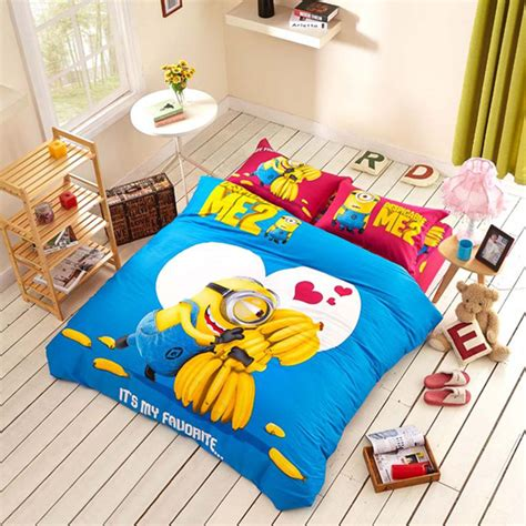 minion toddler bed set 12 cute minion bedding sets you can buy right now home