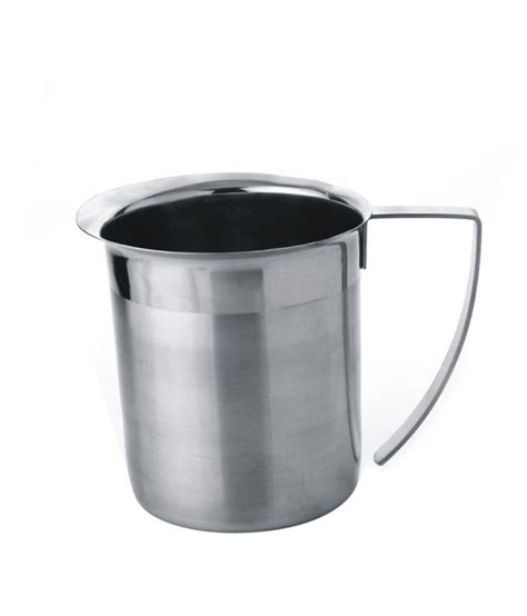 Milk Jug Stainless Steel 1000 Ml Murah montstar stainless steel milk jug beverage jug with