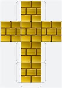 brick templates my mario boy mario downloadable printable block