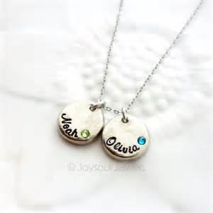 Custom Name Jewelry Dainty Personalized Birthstone Necklace Custom Name Jewelry Joysoul Jewels
