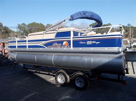 tracker boats vip card sun tracker fishing barge 22 dlx 2015 for sale for 19 000