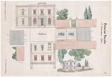 paper victorian house plans find house plans a victorian suburban villa open house miniatures