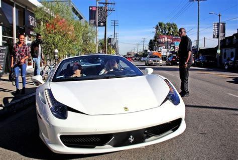 iggy azalea seen driving a ferrari 458 italia autoevolution