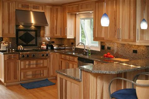 kitchen with wood cabinets hickory cabinets kitchen bath kitchen cabinets