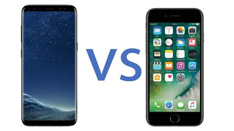 Samsung V Iphone Samsung Galaxy S8 Vs Iphone 7 Flagship Phones Compared Tech Advisor
