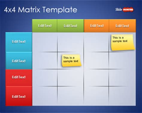 matrix template free matrix powerpoint templates free ppt powerpoint
