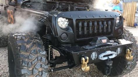 hauk designs steam jeep loco hauk steam powered jeep jk 6x6 is totally unnecessary
