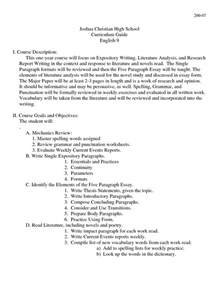 Essay Writing Format Sle by Guidelines Research Paper Outline