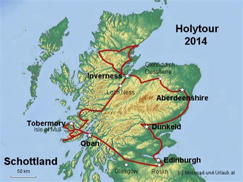 Motorrad Landkarte Deutschland by Stepmap Schottland Motorrad Tour Holytour 2014