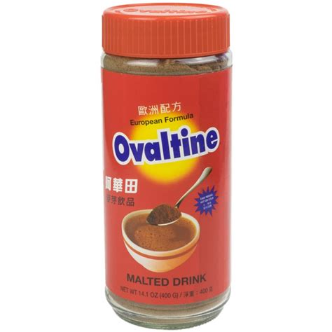 Ovaltine Swiss Formula With Chocolate Thailand ovaltine european formula malted drink mix 14 oz malt beverages beverages asian food