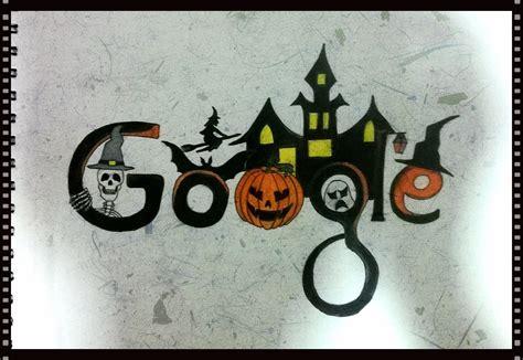 google images of halloween google doodle sketchdom