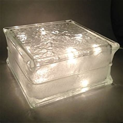 glass block lights lighted glass block with clear lights glass