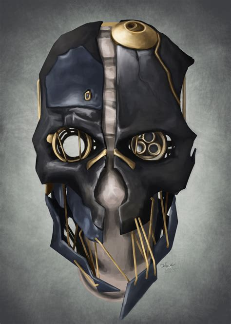 Buy Blueprints Dishonored Corvo Mask By Elfios On Deviantart