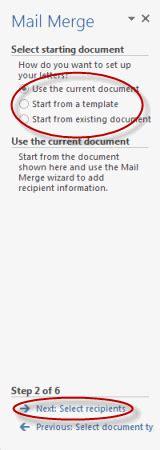 Using Mail Merge Tutorial Webucator - using mail merge exercise tutorial webucator