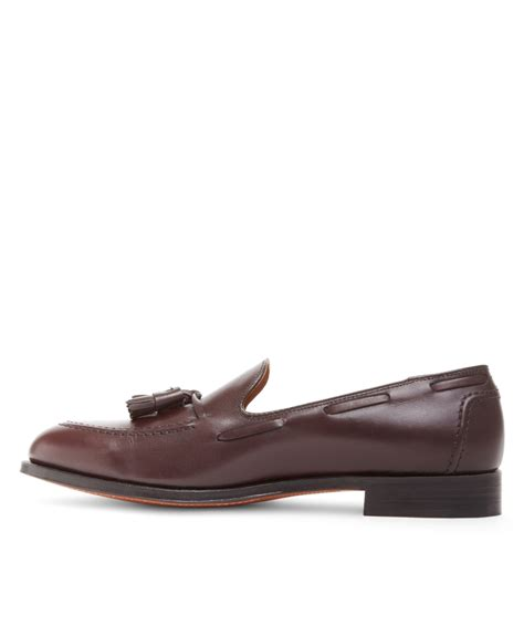 brothers loafers brothers tassel loafers in purple for lyst