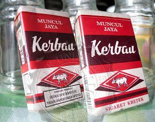 Rokok Kerbau antik unik klasik penikmat barang jadul rokok kung