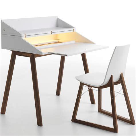 desk with led lights horm bureau writing desk with led light panik design