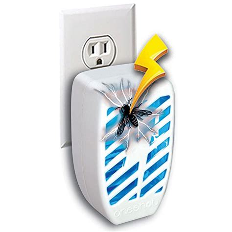 set indoor outlet plug  mini bug zapper kill gnats