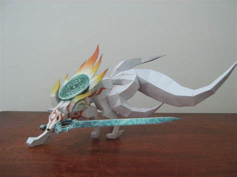 Amaterasu Papercraft - amaterasu okami by rafael2912 on deviantart