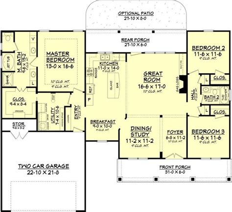 plans maison en photos 2018 country style house plan 3