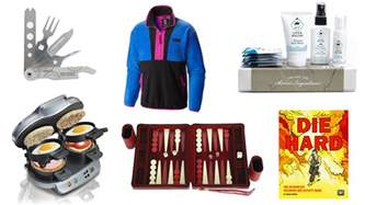 holiday gift ideas for men from clothes to cooking and