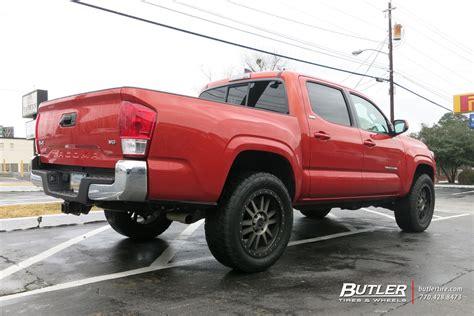 Toyota Tacoma Tire Size Toyota Tacoma Custom Wheels Black Rhino Tanay 20x Et