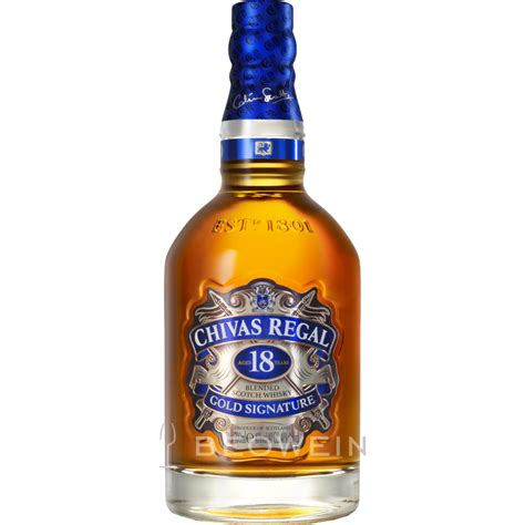 Regal Gold by Chivas Regal 18 Years Gold Signature 0 7 L Beowein Mail