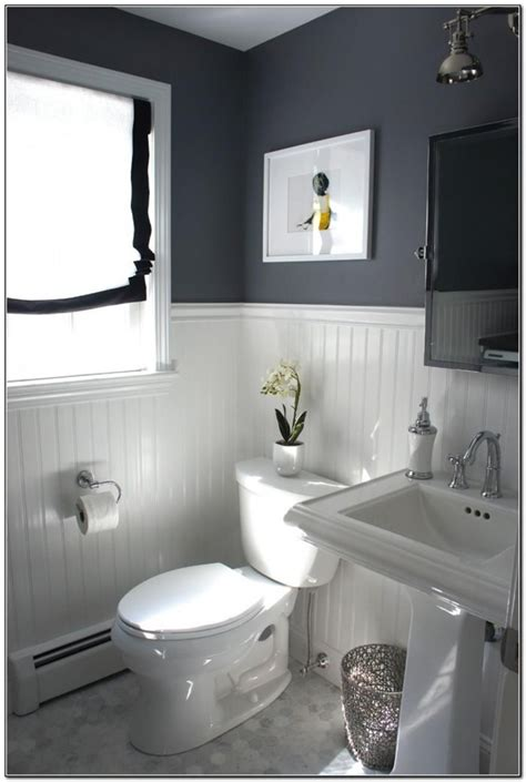 perfect gray  bathroom decorating ideas   budget