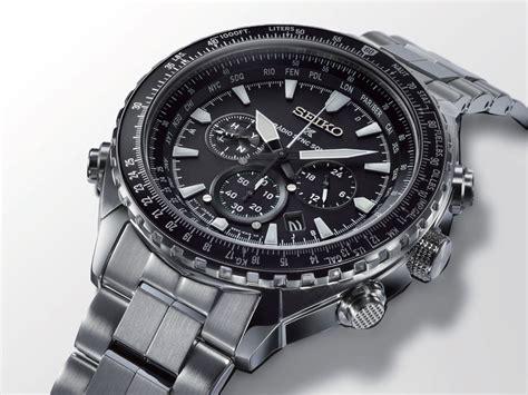 Seiko   Prospex Radio Sync Solar World Time Chronograph   Time and Watches