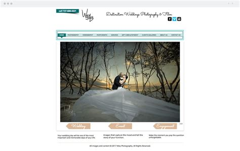 beautiful websites 2017 best wedding photography websites 2017 mini bridal