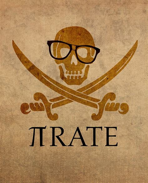 printable pirate jokes quot pirate humor math number pi nerd poster quot by scienceispun